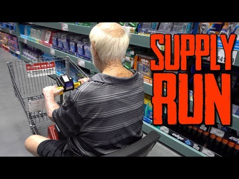 THE SUPPLY RUN!! (LMAO)