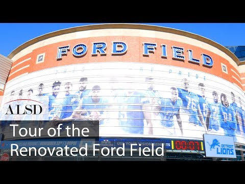 Go Inside Ford Field, Home of the Detroit Lions, After Its $100 Million Renovation
