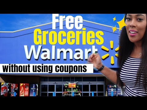 How I Get Free Groceries at Walmart WITHOUT Coupons or Extreme Couponing | One Cute Couponer