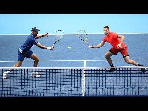 Highlights: Bryan/Sock Clinch 2018 Nitto ATP Finals Crown