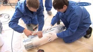 видео Установка систем вентиляции и кондеционирования