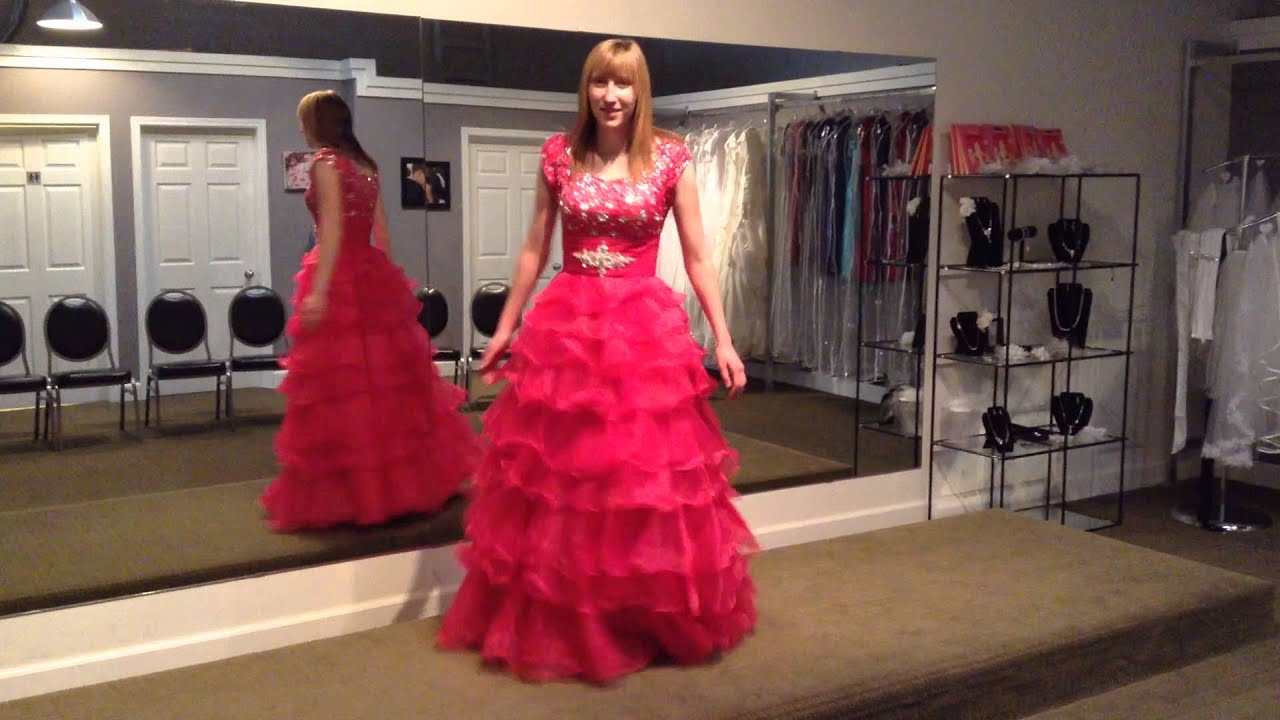 Celestial Gowns, modest bridal shop in Lethbridge Alberta - YouTube