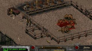 Fallout 2 - part 99 - gameplay - hardest difficulty