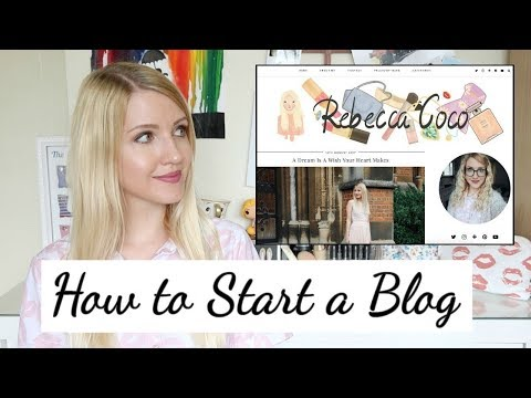 How to Start a Blog - Step By Step For Beginners