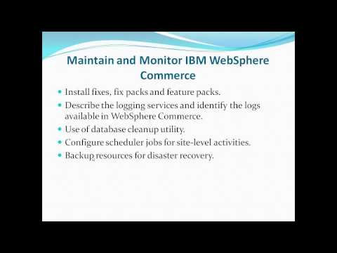 Websphere Commerce Training 100%Practical And Live Training - YT