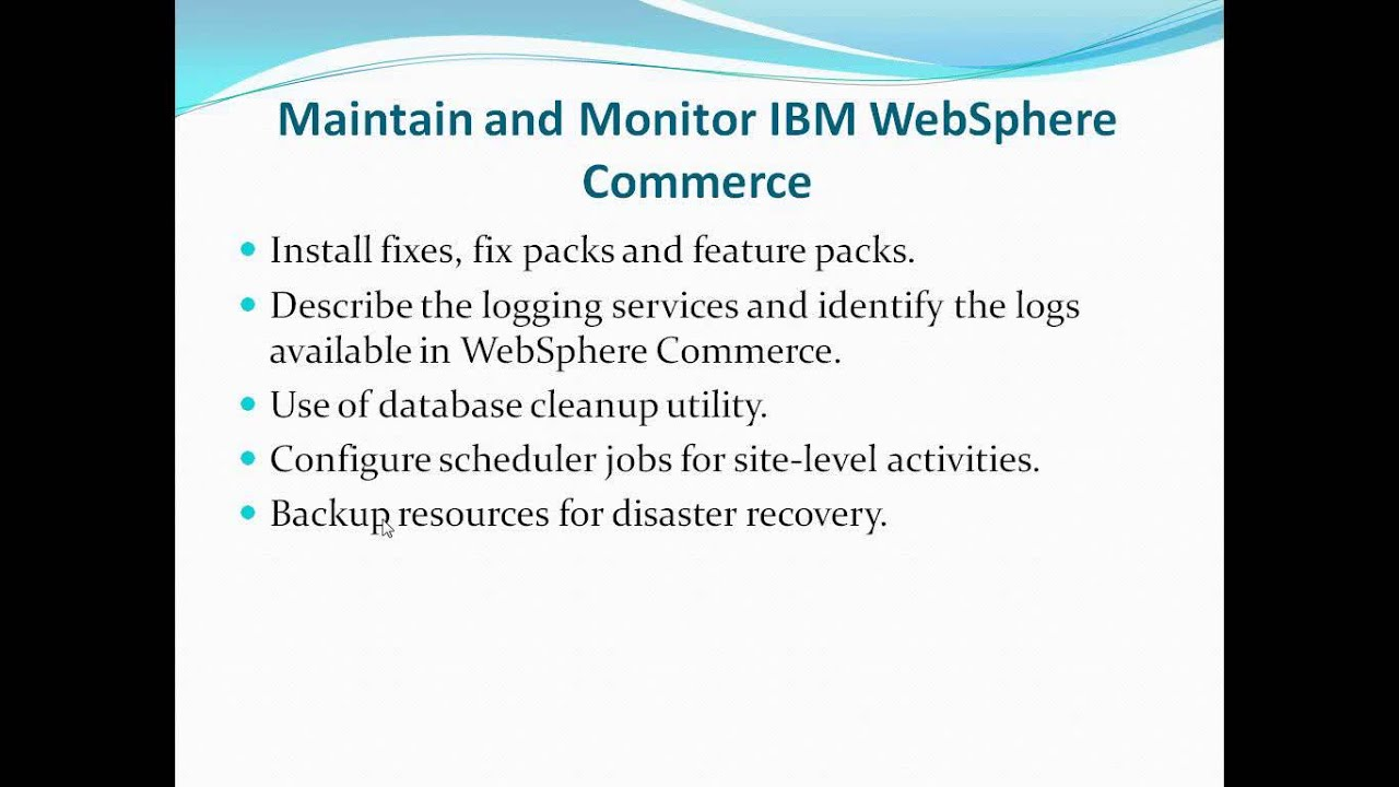 Install and configure websphere application server on unix and.