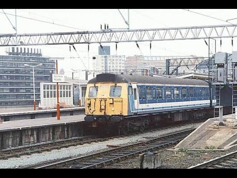 British Rail Vignettes #13 Manchester Piccadilly early afternoon 23 May 1994