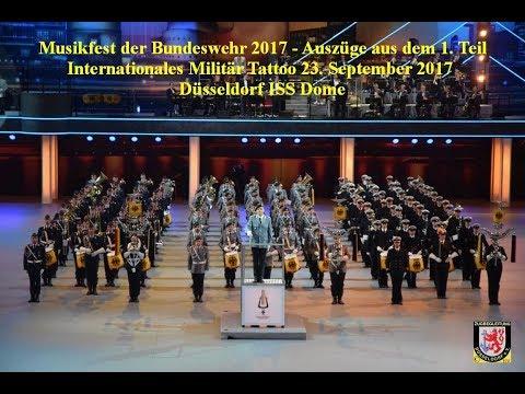 2017 0923 Musikfest der Bundeswehr V21 Ausschnitte aus dem 1  Teil des Tattoo