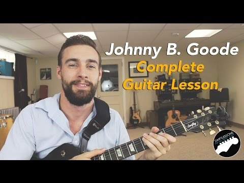 "Chuck Berry ""Johnny B. Goode"" Complete Guitar Lesson"