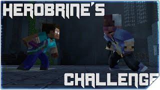 HEROBRINE'S CHALLENGE - EPIC FIGHT Minecraft Animation