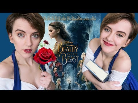 BELLE IS HERMIONE GRANGER  Me Watching Beauty and the Beast  Action Movie Reaction