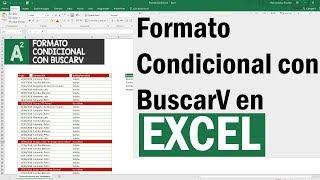 Formato condicional con BuscarV en Excel