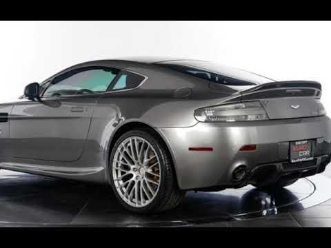 Eurocar 2013 Aston Martin Vantage V8 6 Speed Manual Transmission