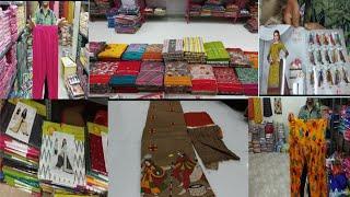 Part -2. Hyderabad Madina Wholesale Latest Dress Materisls, Leggings, Chunnis Collections.