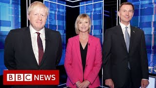 Tory leadership: Johnson and Hunt get personal - BBC News