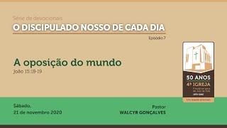O DISCIPULADO NOSSO DE CADA DIA | Série de devocionais