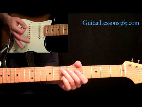 Metallica - Enter Sandman Guitar Lesson Pt.2 - Verse, PreChorus & Chorus
