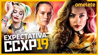 MARVEL, DC E STAR WARS: EXPECTATIVA CCXP 2019