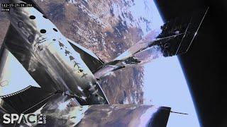 Virgin Galactic's 1st human spaceflight from New Mexico! See highlights