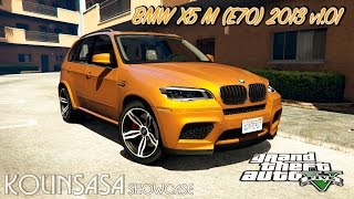 GTA 5 BMW X5 M (E70) 2013 v1.01(Скачать модификацию (Download modification): http://maniamods.ru/load/cars_for_gta_5/bmw/bmw_x5m_2013_v1_01/805-1-0-2109 Обзор модификации в ..., 2015-09-09T09:13:16.000Z)