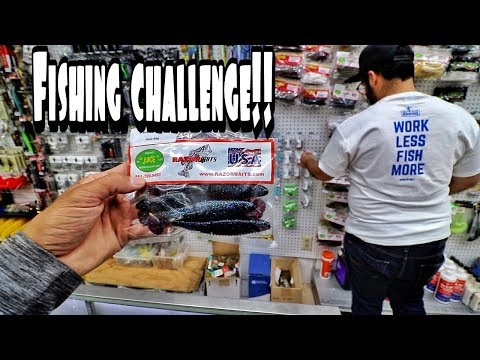 Local Bait & Tackle Shop Picks My Lures??? Fishing Challenge Technique Specific Rod Series!