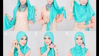 Хиджаб / КАК ЗАВЯЗАТЬ? ОЧЕНЬ ПРОСТО!Hijab Islama