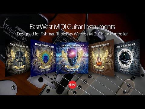 EastWest MIDI Guitar Instruments Video