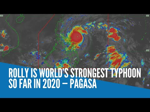 Rolly is world's strongest typhoon so far in 2020 — Pagasa