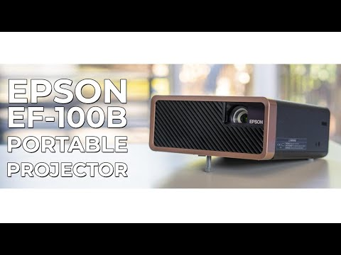 Cinema In Your Living Room | Epson EF-100B Portable Projector