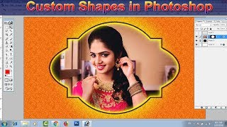 Custom Shapes in Photoshop 7 0, Custom Shapes tool in Photoshop #11