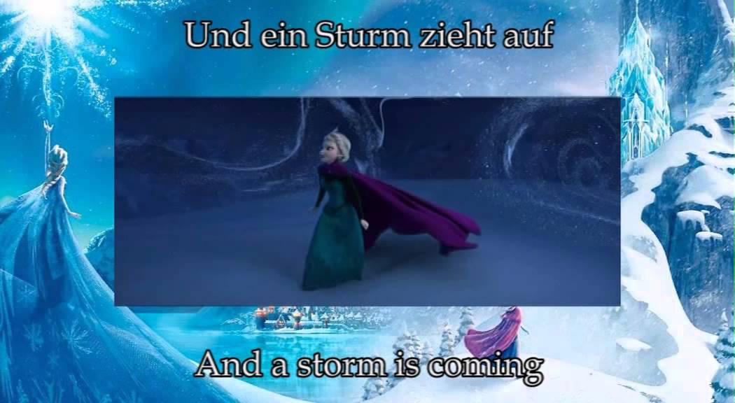 Lyric frozen let it go lyrics : Disney's Frozen - Let it go (German S&T) - YouTube
