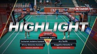 Zachariah Josiahno S/Winny Oktavina K (Tangkas Jakarta) VS Ary Taufik/Anggelica N (SGS PLN Bandung)