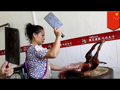 【閲覧注意】中国で犬肉祭、1万匹殺害に「残酷」と批判
