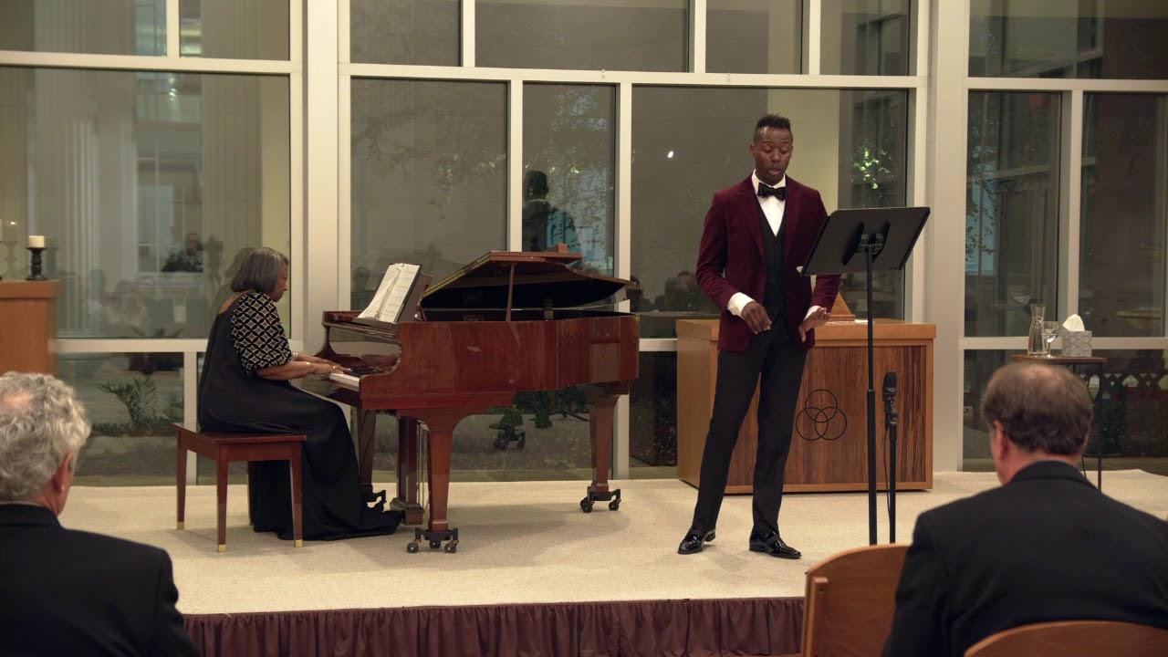 Come To The Manger, Donovan Black (tenor) - Dr. Barbara Bouie (piano)