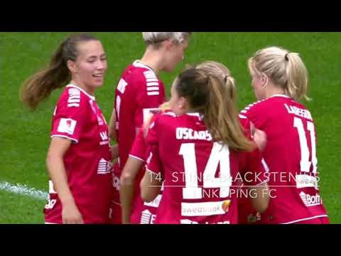 Topp 20 mål Damallsvenskan 2019