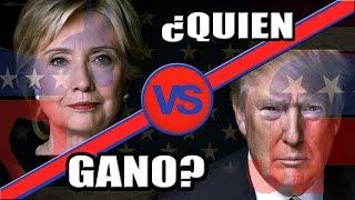 ¿QUIEN GANO las ELECCIONES de USA este 8 de noviembre 2016?