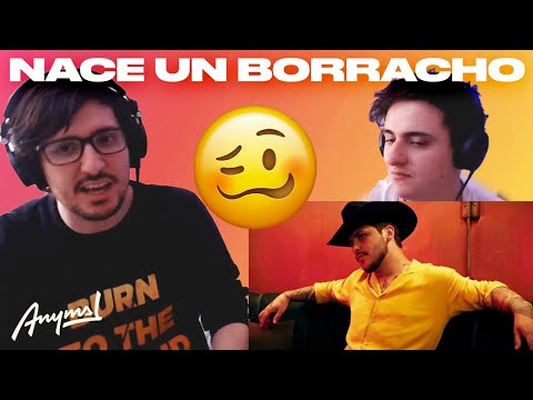 [Reacción] Christian Nodal – Nace Un Borracho (Video Oficial) | ANYMAL LIVE 🔴