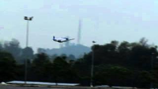 FMS Mustang P-51D V6 1400mm low passes