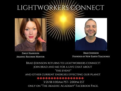 Lightworkers Connect: Brad Johnson discusses