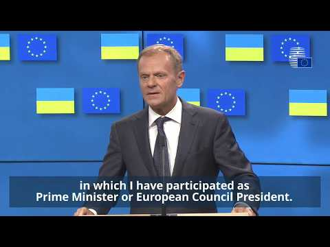 Statement of President Tusk on the European Council