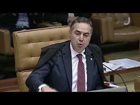 """Barroso responde a Gilmar """"Eu vi a mala"""""""