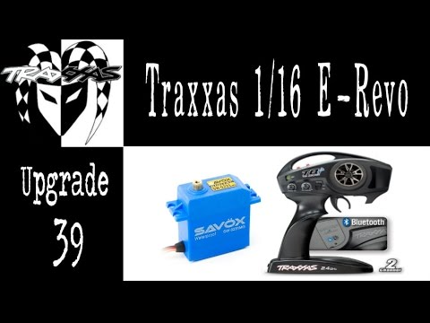Jester - Traxxas Mini E-Revo - Level 39 Upgrade - Savox Servo & TQi