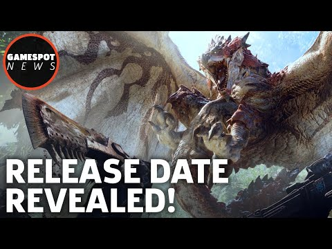 Monster Hunter World Release Date & New Square Enix Game! - GS News Roundup