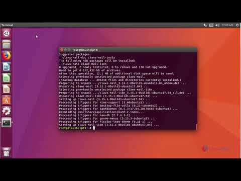 How to Install Claws Mail on Ubuntu 17.04