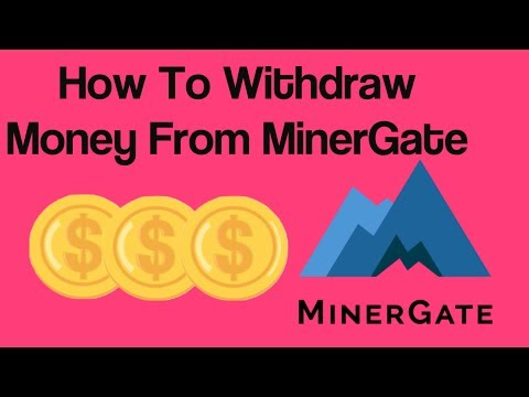 How To Withdraw Money From MinerGate