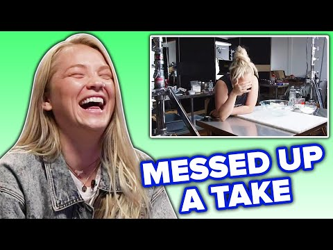 Alix Reacts To Her First Behind Tasty Video • Tasty