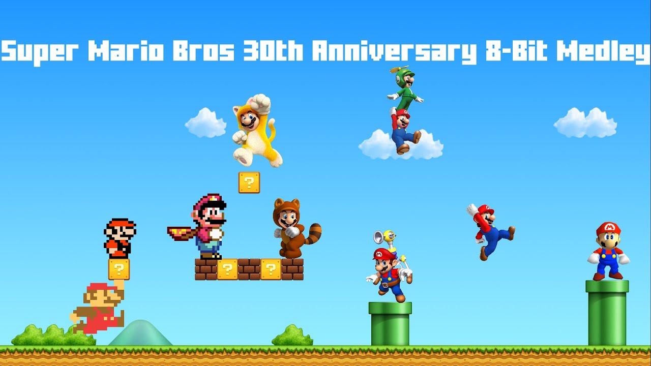 Super mario bros th anniversary bit medley youtube