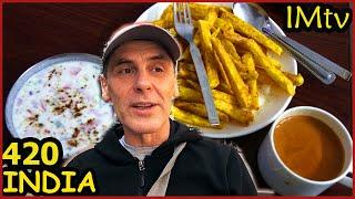 ИНДИЯ  Вкусная Индийская Еда. Наконец-то ПОЕЛ! Гургаон 3