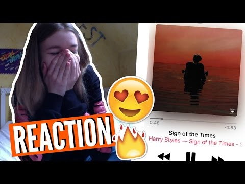 SIGN OF THE TIMES by HARRY STYLES REACTION 😱 german/deutsch