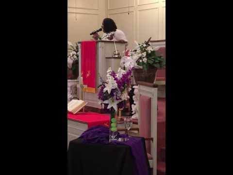"""Gospel Artist Denita Gibbs-""""Worship Medley"""" at Green Liberty Baptist Church Birmingham, AL 6/26/16"""